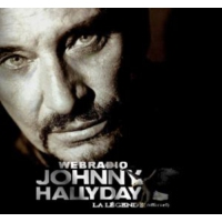 Logo of radio station Webradio Johnny Hallyday - La Légende