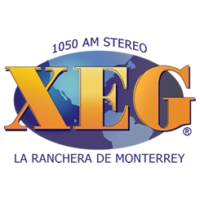 Logo of radio station XEG La Ranchera de Monterrey