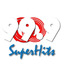 Logo of radio station 99.9 SuperHits