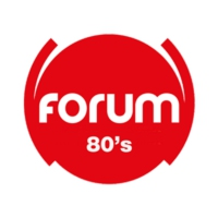 Logo of radio station FORUM 80'S