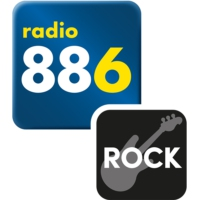 Logo of radio station 88.6 Rock