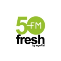 Logo de la radio 50fresh - by egoFM