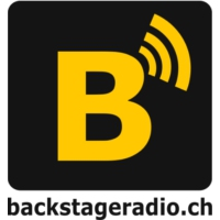 Logo of radio station Backstage Radio