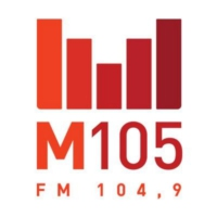 Logo of radio station M105