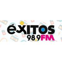 Logo of radio station XHAMO Éxitos 98.9