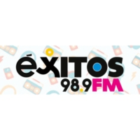Logo of radio station XHAMO Éxitos 98.9