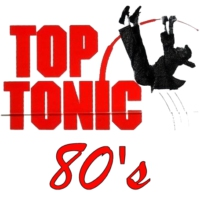 Logo of radio station top tonic 80