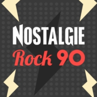Logo of radio station Nostalgie Rock 90