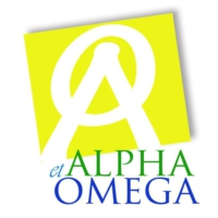 Logo of radio station alphaetomega