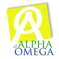 Logo de la radio alphaetomega