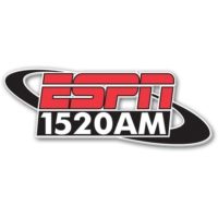 Logo of radio station ESPN 1520 AM