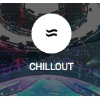 Logo of radio station Parazhit Chillout