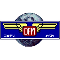 Logo of radio station DFM rtv int