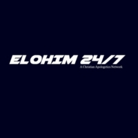 Logo of radio station Elohim 24/7