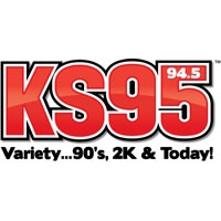 Logo of radio station KSTP KS95