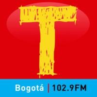 Logo of radio station Tropicana Bogotá 102.9