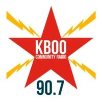 Logo de la radio KBOO Community Radio