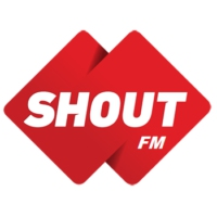 Logo of radio station Shout FM