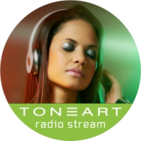 Logo of radio station TONEART Radio