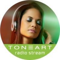 Logo of radio station TONEART Radio