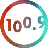 Logo of radio station CHXX-FM La VIBE 100.9 FM