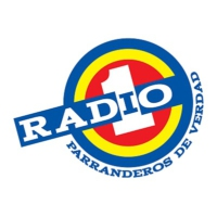 Logo of radio station Radio 1 Barranquilla 95.6 Fm