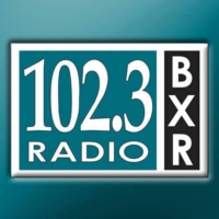 Logo of radio station KBXR 102.3
