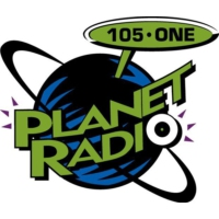 Logo of radio station KFTE Planet Radio 96.5 FM