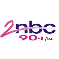 Logo of radio station 2NBC FM