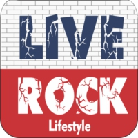 Logo of radio station Live Rock br