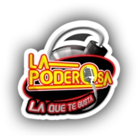 Logo of radio station XHLCM La Poderosa 95.7