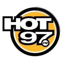 Logo of radio station WQHT HOT 97