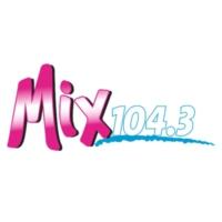 Logo of radio station KMXY Mix 104.3