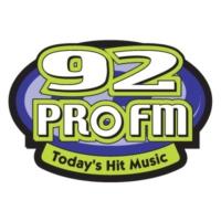 Logo of radio station WPRO-FM 92 Pro FM
