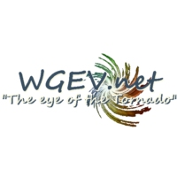 Logo of radio station WGEV Radio Geneva College