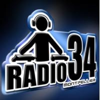 Logo of radio station Radio34 Montpellier