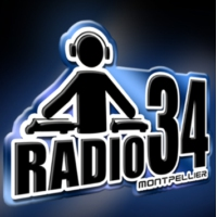 Logo of radio station Radio34 Montpellier