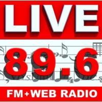 Logo of radio station LIVE FM 89.6