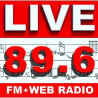 Logo of radio station LIVE FM 89.6