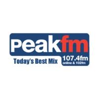Logo of radio station Peak FM 107.4
