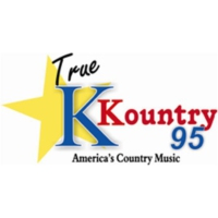 Logo of radio station K Kountry 95
