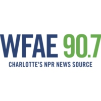 Logo of radio station WFAE 90.7 FM