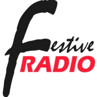 Logo of radio station Festive Radio