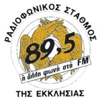 Logo of radio station Εκκλησία της Ελλάδος 89,5