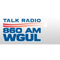 Logo of radio station WGUL 860 AM