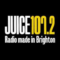Logo of radio station Juice 107.2