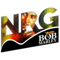 Logo of radio station NRG Bob Marley