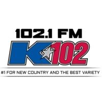 Logo of radio station K102