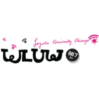 Logo of radio station WLUW 88.7 FM