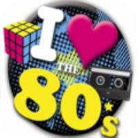 Logo de la radio 1Club.fm - 80's Pop Hits Channel